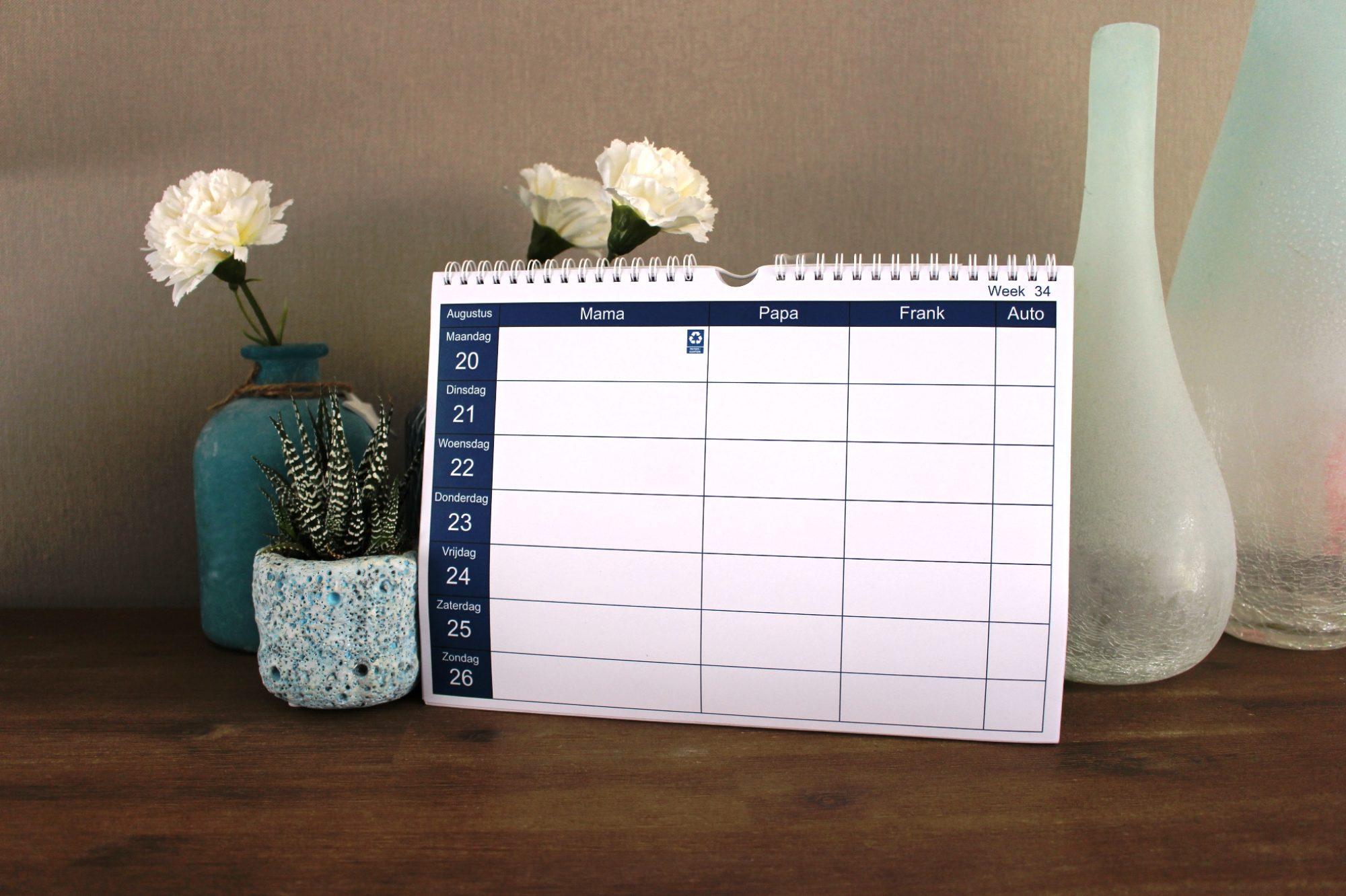 Kalender op maat